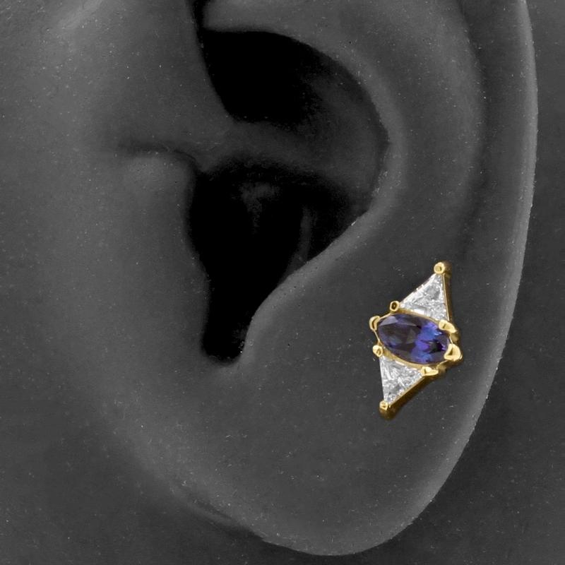 18 karaats gouden sieraden - curated ear