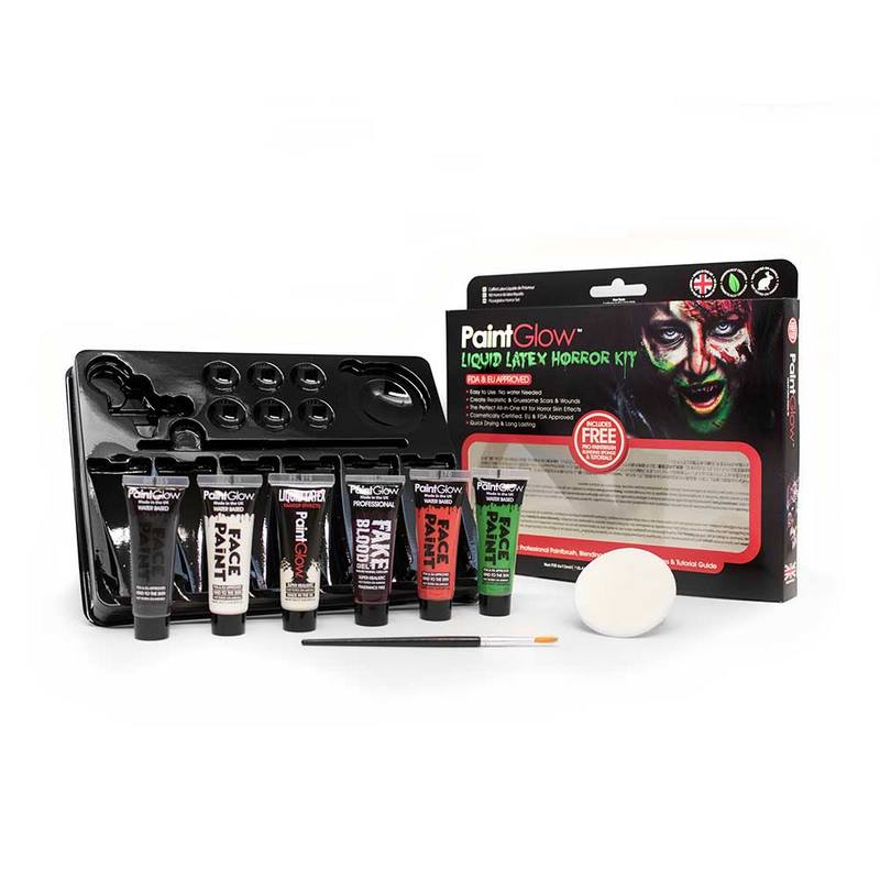 Liquid Latex Horror Make-up kit van Paintglow