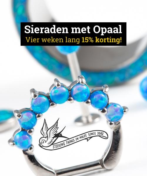 Korting op sieraden met Opaal