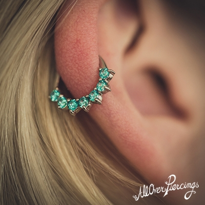 Alles Over De Helix Piercing All Over Piercings
