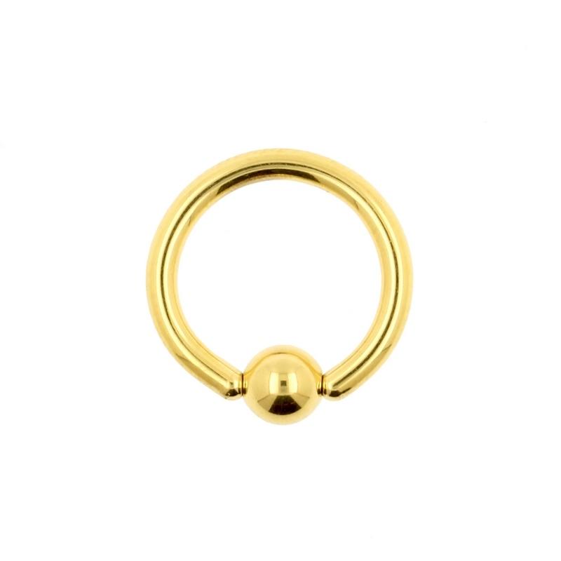 gouden piercing ring