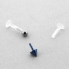 Mini push fit Bioplast stud - 3mm back