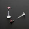 Crystal insert for Bioplast labret: Star