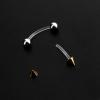 Bioplast curved mini barbell post