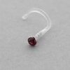 Jewelled Bioplast Nosestud