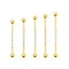 Jewelled Industrial Barbell