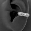 Conch Clicker - Double Swarovski Zirconia