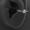 Conch Clicker - Set with Rose Cut Zirconia