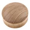 Teak Wood Plug - Domed