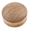 Teak Wood Plug - Domed