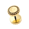 Brass Fake Plugs - Dots