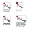 Zirconia Curve Rechts - Threadless