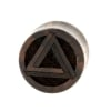 Penrose Triangle Plugs - Sono Wood
