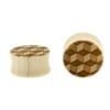 3D Cube Plugs - Crocodile Wood