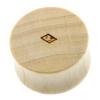 3D Cube Plugs - Crocodile Wood