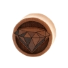 Diamond Plugs  - Sawo Wood