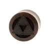Triforce Plugs  - Sono Wood