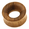 Teak wood striped tunnel