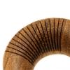 Teak wood striped tunnel