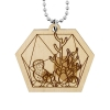 Cactus Necklace - Hexagon Terrarium
