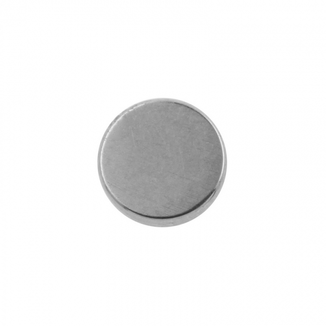 Flat disc - for 1,6mm piercing jewelry