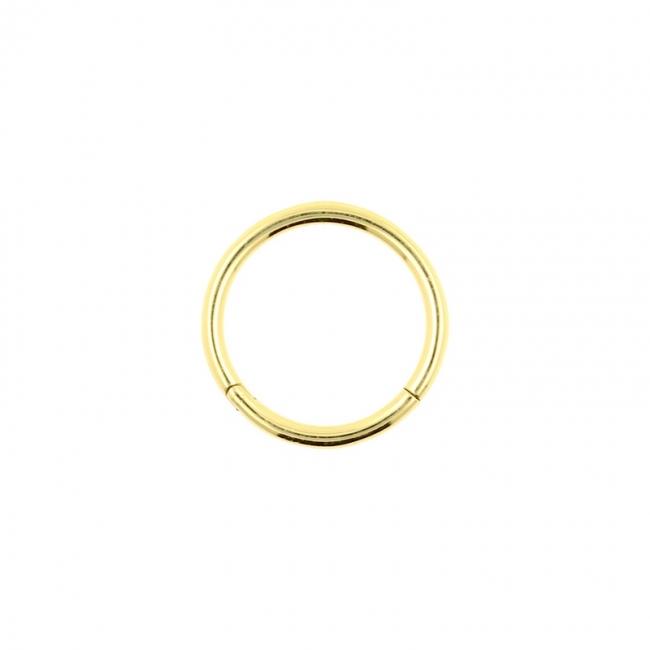 Golden Click Ring