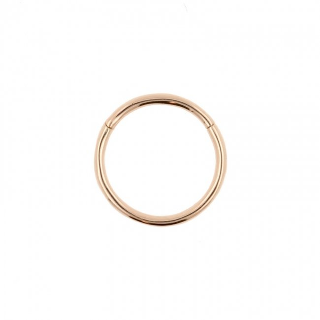 Rose Gold Click Ring