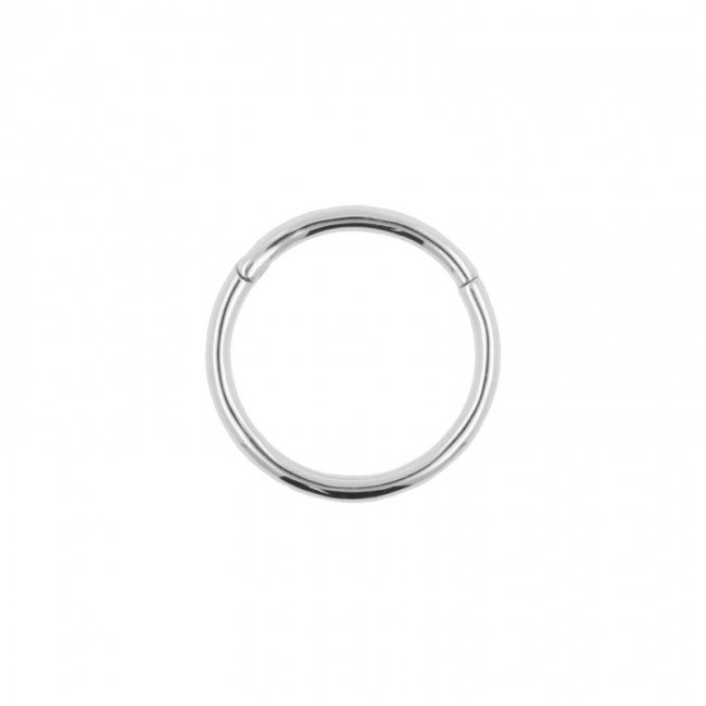 White Golden Click Ring
