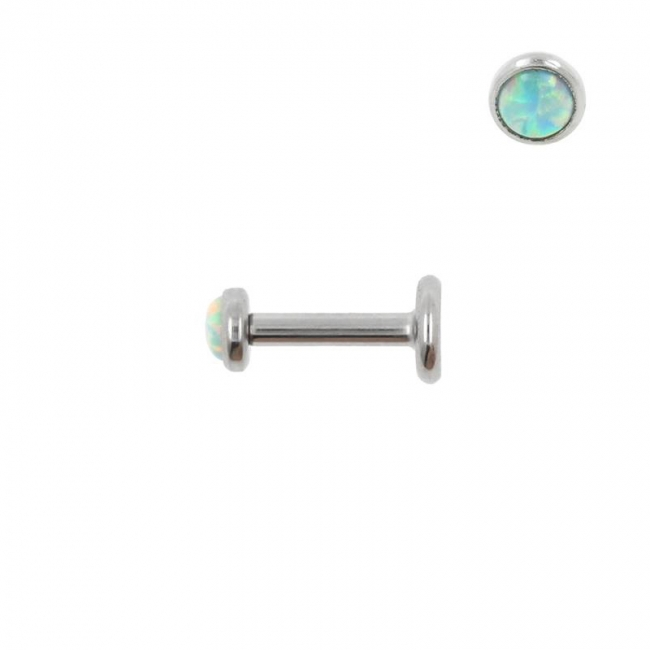 Mini Opal Labret - Internally Threaded