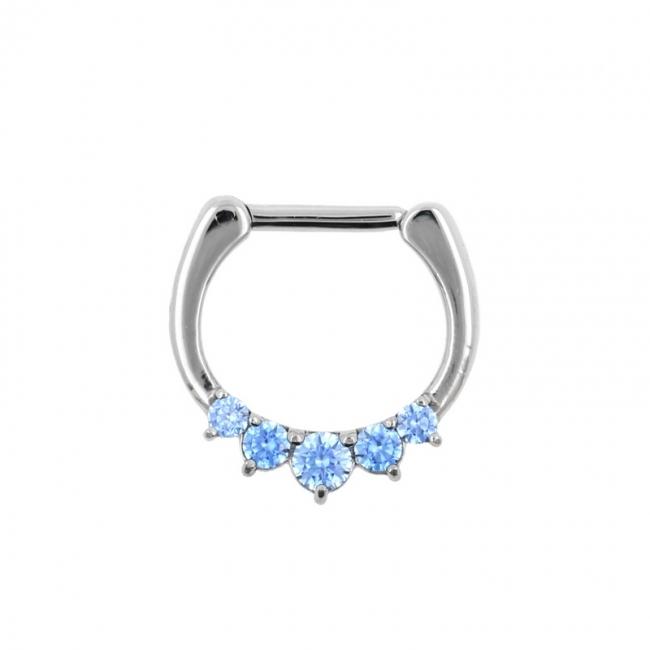 Septum Clicker with Swarovski™ Gems