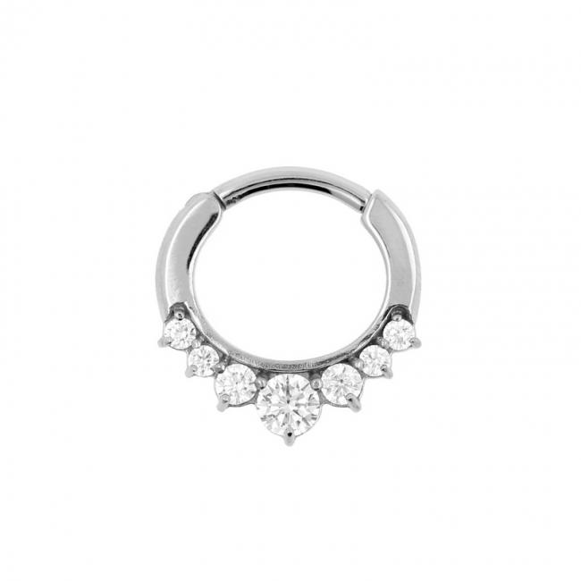 Gemmed Princess Ring