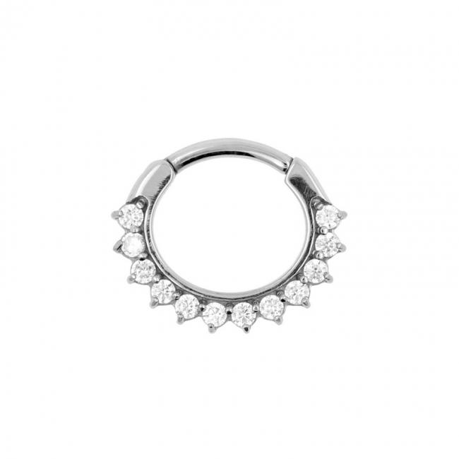 Gemmed Sunflower Ring