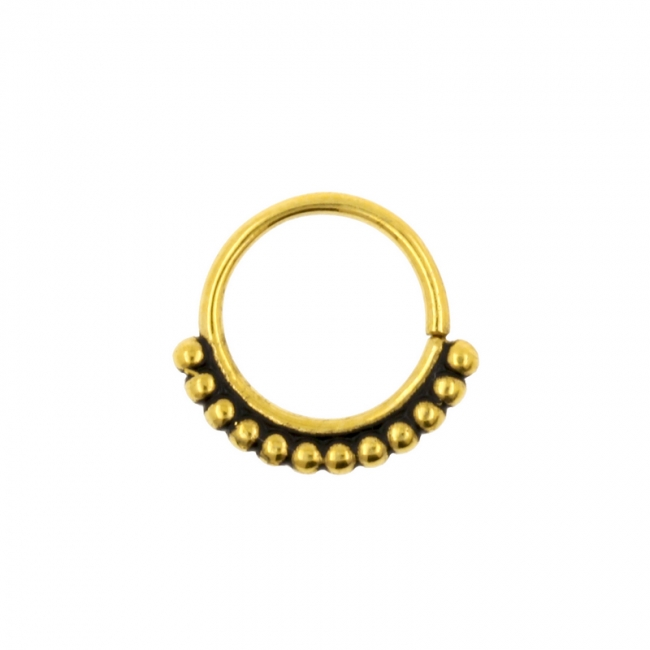 Continuous Ring - Vintage Dots