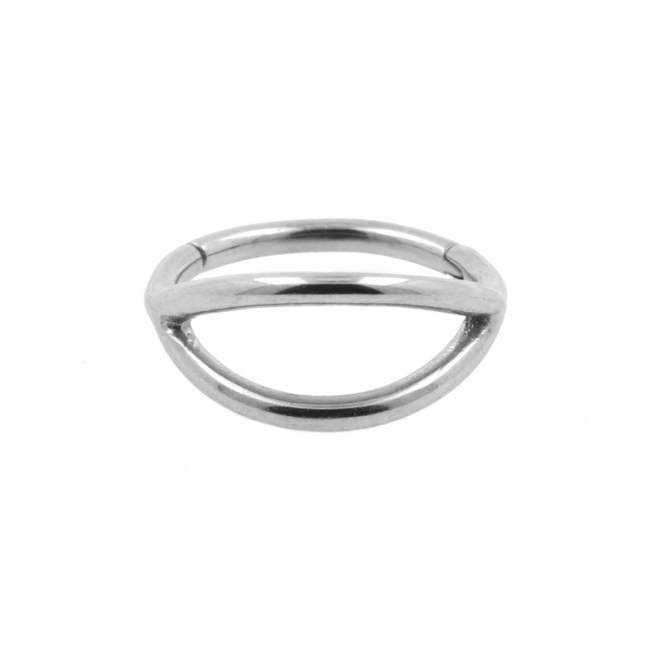 Click Ring - Double Hoop