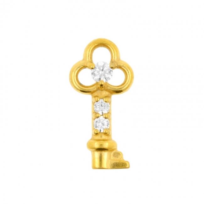 Clicker Charm - Key