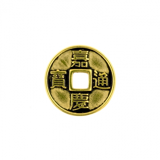 Click Ring Charm - Lucky Coin