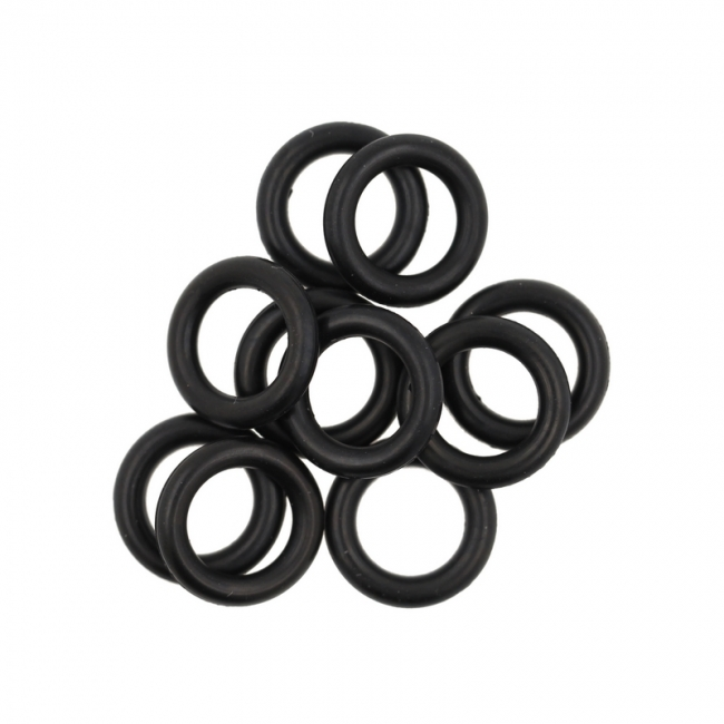 10 spare o-rings