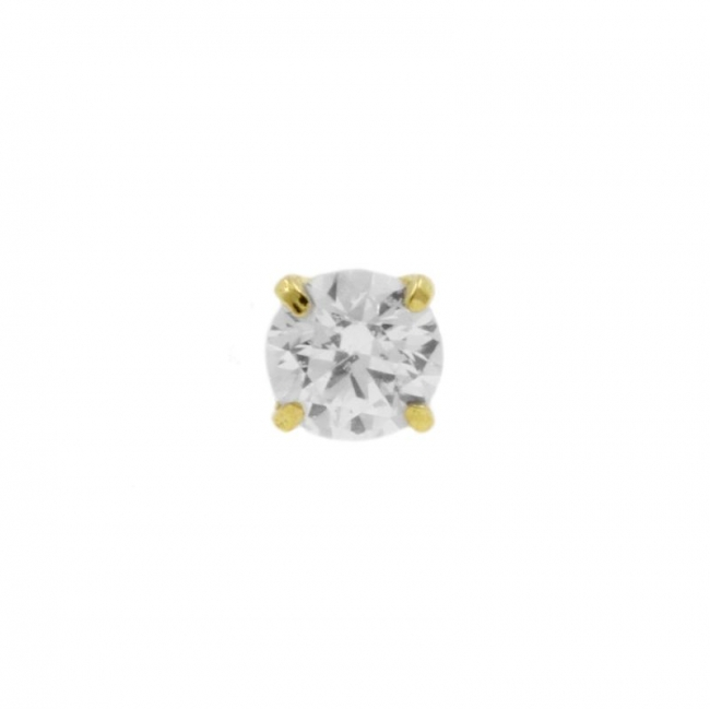 Gold Threaded Zirconia - 2 mm