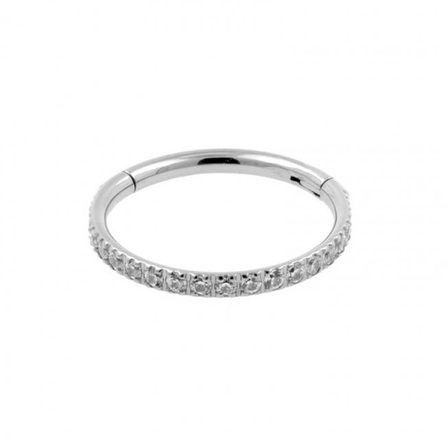Titanium Zirconia Click Ring