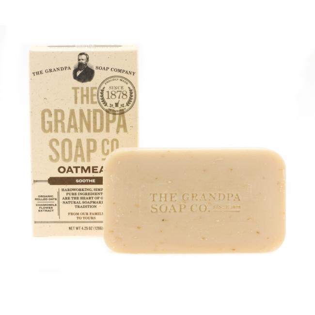 Grandpa's Oatmeal Soap