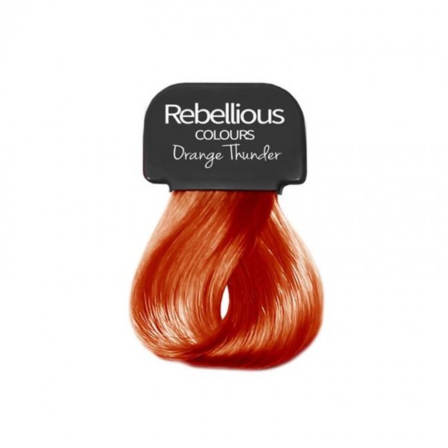 Paintglow Hair Dye Streaks - Orange Thunder