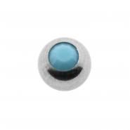 Mini Jewelled threaded ball