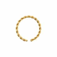 Braided Continuous Ring