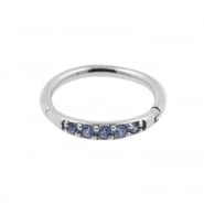 Helix Click Ring with Swarovski™ Gems