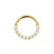 Gold Swarovski Zirconia Ring
