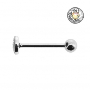 Multi jewelled barbell