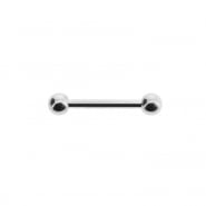 Mini barbell with balls