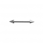 Mini barbell with spikes