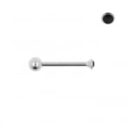 Nano Barbell with 2mm Gem