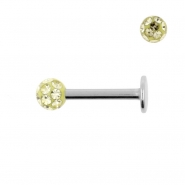 Multi Jewelled Mini Labret